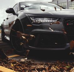 Audi RS7 Matte Black Fall