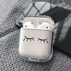 Clear AirPods Case Eyelashes AirPods cover Apple Earphones case Headphones Cover Custom case for Apple Air Pods clear case Apple Headphones headphone apple – Headphone Fone Apple, Airpods Apple, Cute Ipod Cases, Iphone Cases, Apple Earphones, Accessoires Iphone, Earphone Case, Tablet, Macbook Case