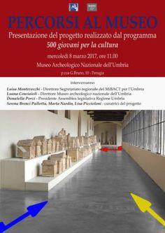 Museo archeologico nazionale dell'Umbria: 500 giovani per la cultura