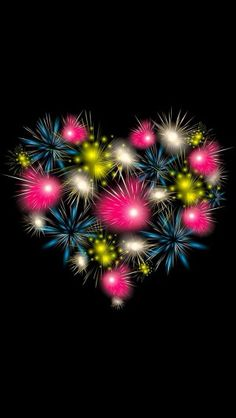 Firework heart