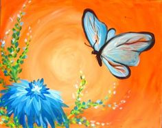 Butterfly Thurs, July 11th 7-9pm $30pp