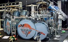 alex van halen gold drum sets   ... Halen.com :: Welcome to the Unofficial Eddie Van Halen / Edward Van