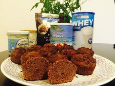 Мои покупки и отзывы на iHerb.com: Кокосово-протеиновые кексы Muffin, Coconut, Breakfast, Food, Morning Coffee, Essen, Muffins, Meals, Cupcakes