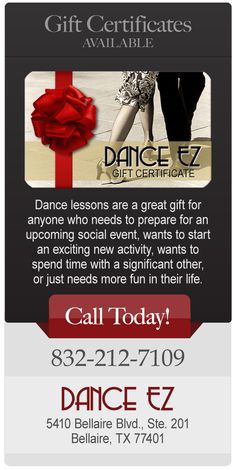 http://danceez.com/ If you want to learn how to dance and want to become a good dancer, contact Dance EZ.
