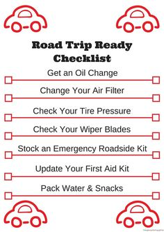Summer time means travel and these tips will help you get your vehicle road trip ready. Download the free printable checklist #SummerCarCare #CollectiveBias #AD:                                                                                                                                                      More