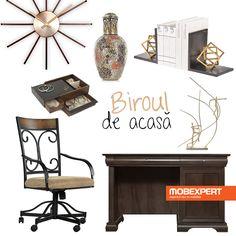 Creează un decor care să te inspire atunci când lucrezi de acasă. #decoideea #moodboard #mobexpert