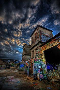 Abandoned Graffiti #streetart