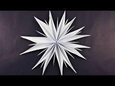 Weihnachtssterne basteln - Fenster-Sterne - Bastelideen Weihnachten - Weihnachtsdeko selber machen - YouTube