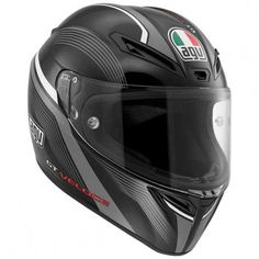 The AGV GT Veloce helmet is based on the same helmet worn by 9 time world champion Valentino Rossi.