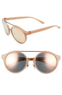 60fb3227bb Free shipping and returns on Tory Burch 54mm Sunglasses at Nordstrom.com.  Coppery hardware
