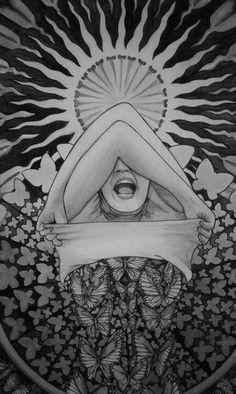 The Awakening Butterfly by RouecheArt. °