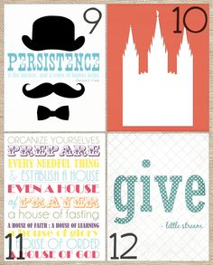 Free May 2012 Visiting Teaching Printables | Mormon Mommy Blogs