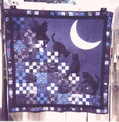 cat quilts | This Quilt was a Special Order that I made. The quilt was designed by ...
