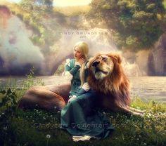 Aslan by CindysArt.deviantart.com on @deviantART