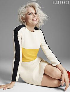 Michelle Williams is ELLE UK's April 2015 cover star | Fashion, Trends, Beauty Tips & Celebrity Style Magazine | ELLE UK