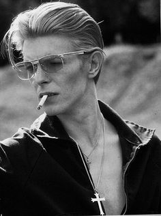 David Bowie, glad we share a B-Day