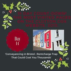 Day 14 of our 31 Day Countdown. Rentcharge in Bristol! #rentcharge #property #conveyancing