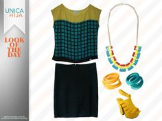 Exude a bright look today!