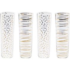 Stylist's Tip: Group this champagne flute with crisp white linens and a fruit centerpiece to set the stage for a lavish dinner party. Featuring 24-karat gold...