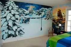 Narnia Mural [murals from all the best books]  I want this on my wall!!!