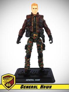 OG 13 :: General Hawk - G.I. Joe customs