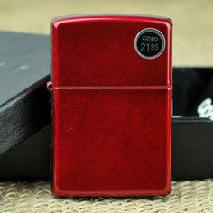 Zippo Windproof Candy Apple Red Lighter