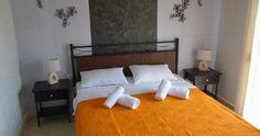 Skala Potamia, Antigone View Apartments Bed, Furniture, Home Decor, Homemade Home Decor, Stream Bed, Home Furnishings, Beds, Decoration Home, Arredamento
