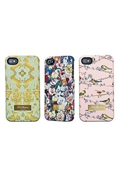 Ted Baker London 'Equestrian Print' iPhone 4 Case | Nordstrom