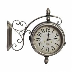 Clock, Metal, Wall, Accessories, Home Decor, Tree Hut Watches, Natural Wood, Weird Things, Crystals