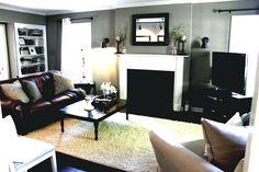 Graue Couch Akzent Farben