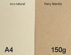 Natural Flecked A4 150g lightweight Card Pack 100