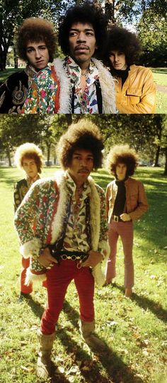 The Jimi Hendrix Experience, with Noel Redding & Mitch Mitchell