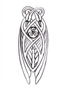 cygnes entrelac celtique