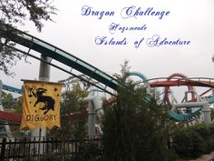 Dragon Challenge in Hogsmeade at the Wizarding World of Harry Potter in Universal's Islands of Adventure park - Top Tips for Islands of Adventure park at Universal Orlando in Florida at http://www.buildabettermousetrip.com/islands-of-adventure-tips/