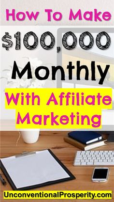 Affiliate marketing is a great way to make money online! We make thousands of dollars every month by using affiliate marketing on our blogs! Check out this course if you want to learn from one of the top bloggers in the world that make $100,000+ every month from her blog!