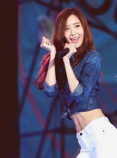 Yoona ♡ yummy tummy