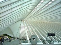 Liege Belgium train station by Calatrava - Google Search