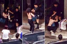 Welcome to Tejiri Philip's blog: Shop Owner Strips Female Thief Half-Naked after Ca...