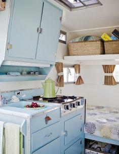 scotty trailers, scotty trailer, scotty campers, scotty serro, retro campers - Westphoria | A blog by Sunset  - I love how bright and cheerful this is!
