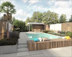 58 Ideas For Backyard Garden Design Layout Shape Stone Patios 58 Ideas For Bac&