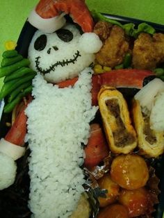 Nightmare Before Christmas Bento