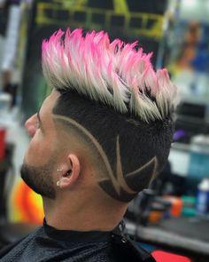 """445 Me gusta, 3 comentarios - Havana Club BarberShop (@gari_havana_cut) en Instagram: """"if it's not pink it's not worth having.. #garithebarber #creating #styles #goodwork #payhard…"""""""