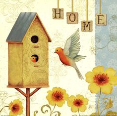 Welcome Home I by Daphne Brissonnet art print