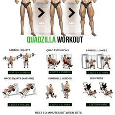 Quadzilla workout steep by step tutorial