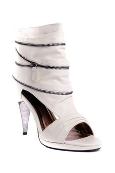 Envy Lucille Peep Toe Cutout Bootie from HauteLook on shop.CatalogSpree.com, your personal digital mall.