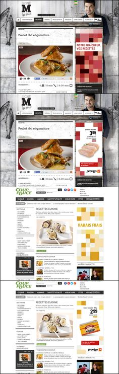 Campagne de bannières Provigo, Loblaws et Provigo le marché réalisée par l'agence Commun.