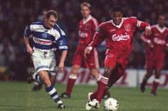 John Barnes in action against QPR