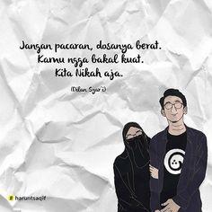 Reminder Quotes, Self Reminder, Islamic Love Quotes, Muslim Quotes, Dilan Quotes, Quotes Indonesia, Quran Verses, Muslim Couples, Album