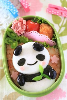 Crazy about the world of character bento!