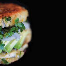 Sprouted Garbanzo Burgers Recipe Recipe